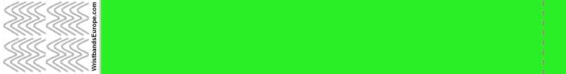 Plain Neon Green Wristband – Green Coloured Wristbands