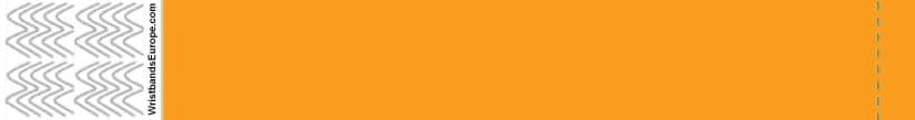 Plain Neon Orange Wristband – Orange Coloured Wristbands