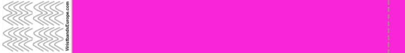 Plain Neon Pink Wristband – Pink Coloured Wristbands