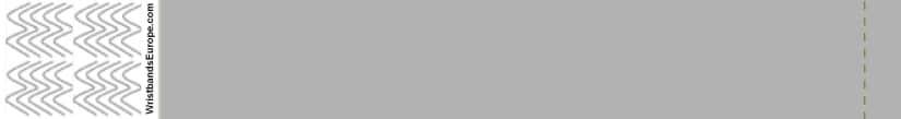 Plain Silver Wristband – Silver Coloured Wristbands