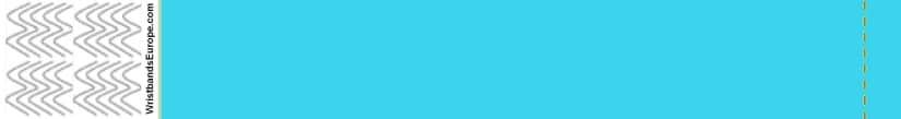 Plain Sky Blue Wristband – Sky Blue Coloured Wristbands