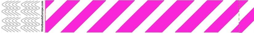 Plain Stripey Pink Wristbands – Pink Stripey Wristbands