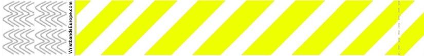 Plain Stripey Yellow Wristbands – Yellow Stripey Wristbands